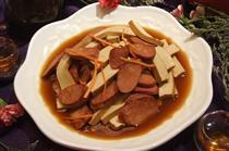 腊肠豆腐干
