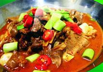 干锅卤香羊肉