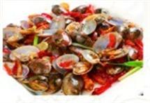 苗家炒花蛤