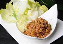 (晏)香草肉碎生菜包