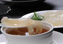 (晏)菜胆炖翅